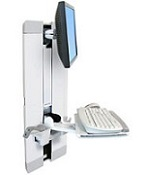 Ergotron Styleview 60-609 Vertical Lift for Patient Room
