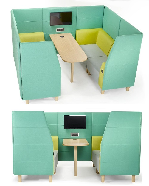 Elements Plus Seating Pod (Media Booth)