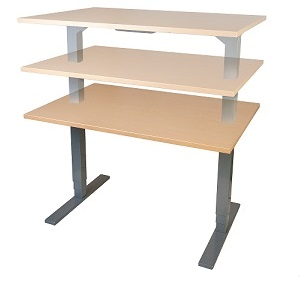 Electric Height Adjustable Sit Stand Conset Dencon Salli